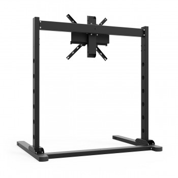 TV STAND SX90 Black - TV Stand for 27 up to 90 inch