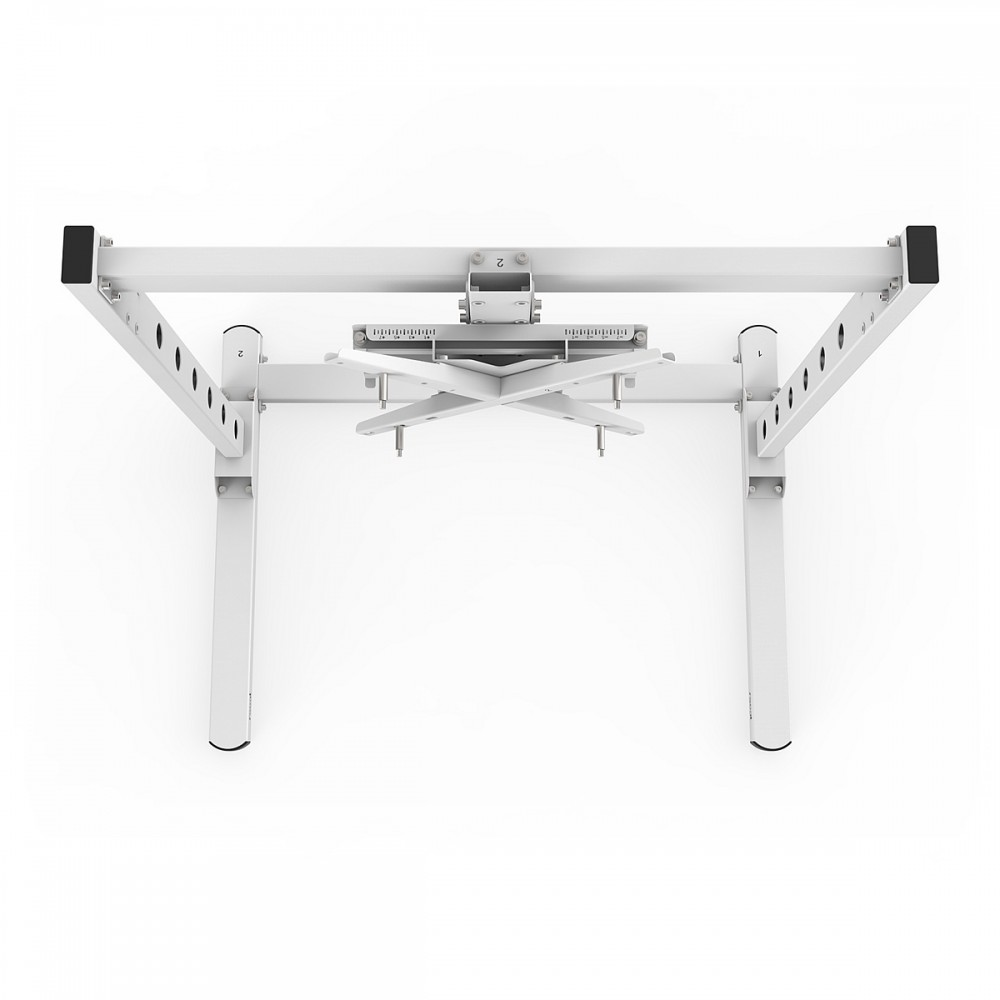 TV STAND SX90 White - TV Stand for 27 up to 90 inch