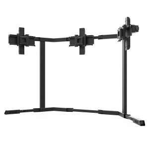 TV STAND TX40 Black - Triple 27-40 inch TV/Monitor Stand  + 106.80€