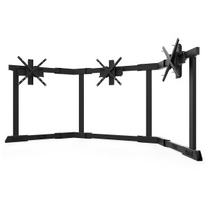 TV STAND TX60 Black - Triple 43-60 inch TV/Monitor Stand  + 250.80€