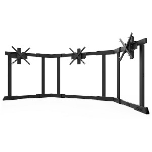 TV STAND TX90 Black - Triple 65-90 inch TV/Monitor Stand  + 654.00€