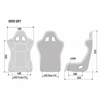 Sparco Grid Q QRT Gaming Seat