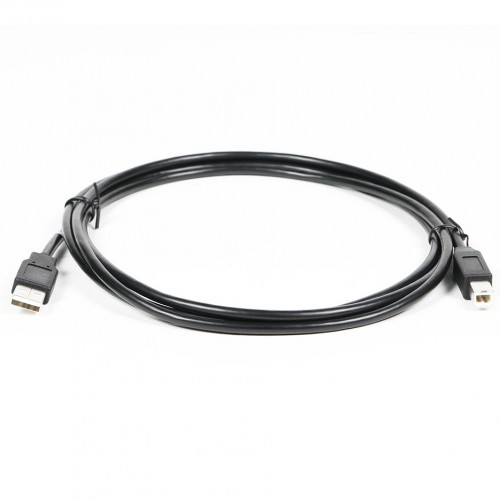 1.8m USB 2.0 A/b Cable - Black