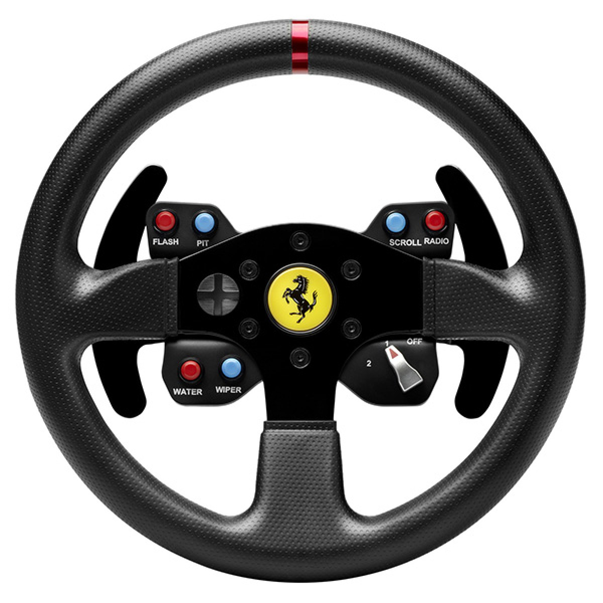 Thrustmaster Ferrari 458 Challenge Wheel ADD-ON  - T300, T500 and TX wheels Base (PC, PS3, Xbox One)