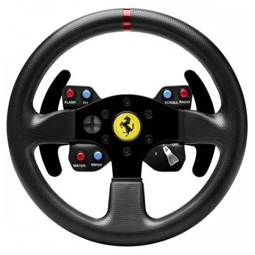 Thrustmaster Ferrari 458 Challenge Wheel ADD-ON  - T300, T500 and TX wheels Base (PC, PS3, PS4, Xbox One)