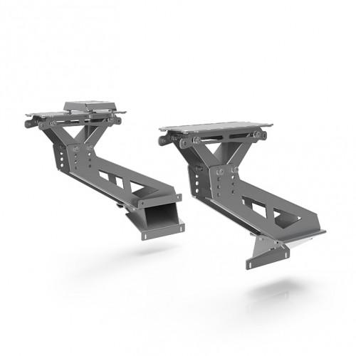 S1 Flight Mount Upgrade Kit Silver Support Thrustmaster HOTAS Warthog