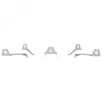 S1 Speakers Mount Upgrade kit Silver