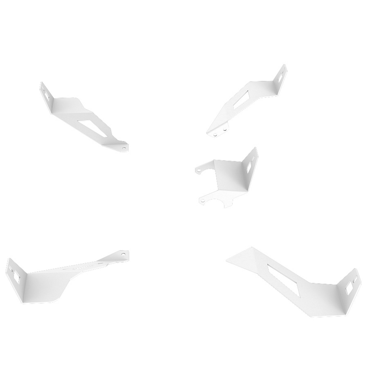 S1 Speakers Mount Upgrade kit White