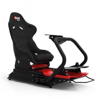 S1 Alcantara/Black/Red Frame