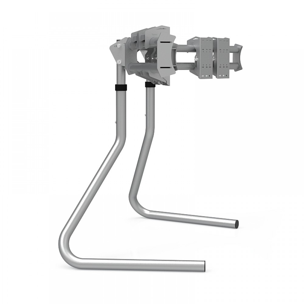 RS STAND T3L Silver V2 - Triple screen up to 3x32 inch