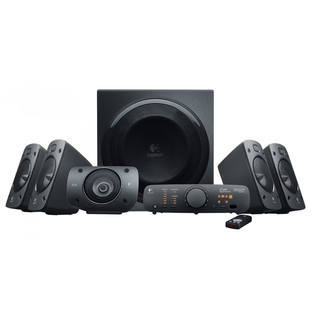 Logitech Surround Sound Speaker System Z906