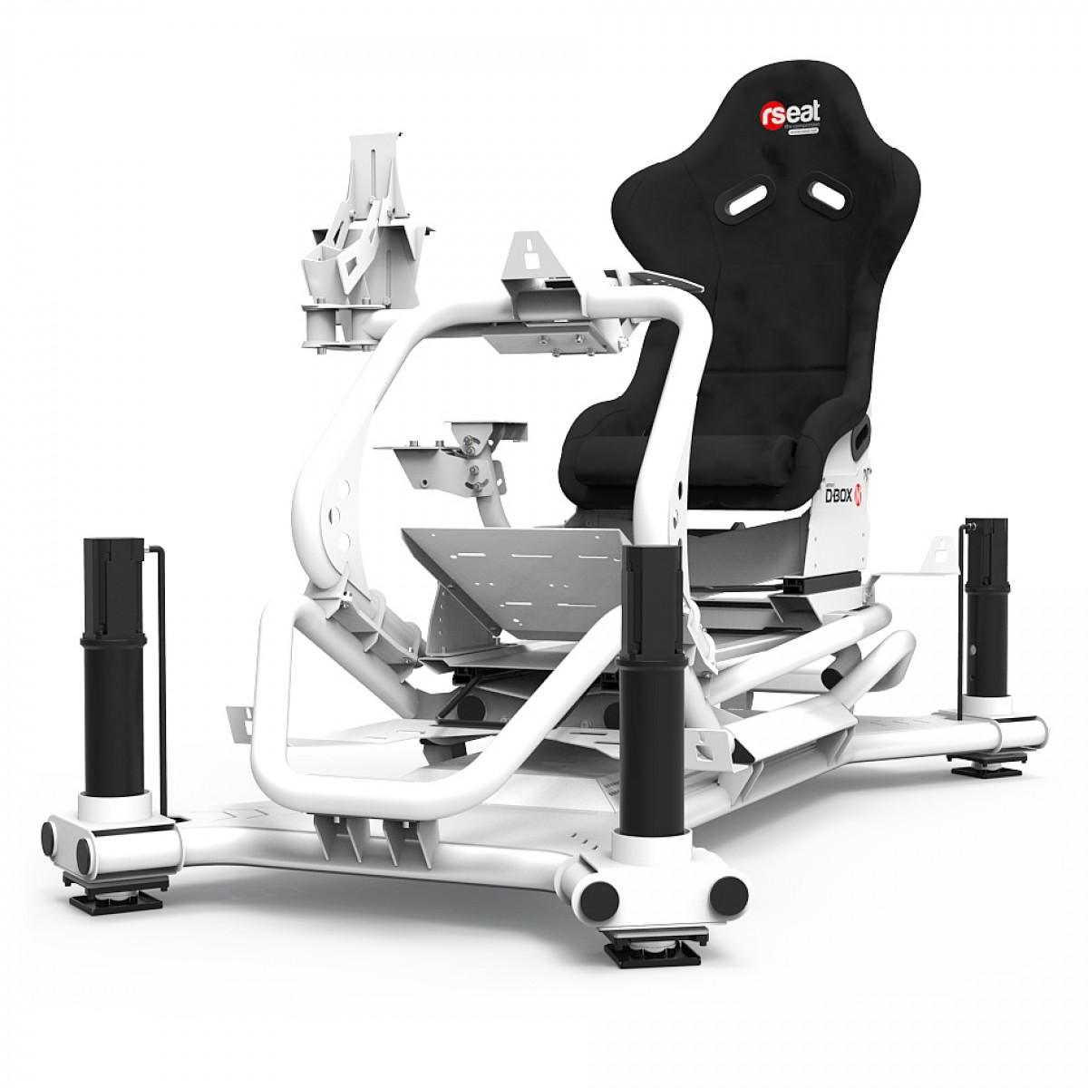 N1 M4A 6000 White Motion Simulator
