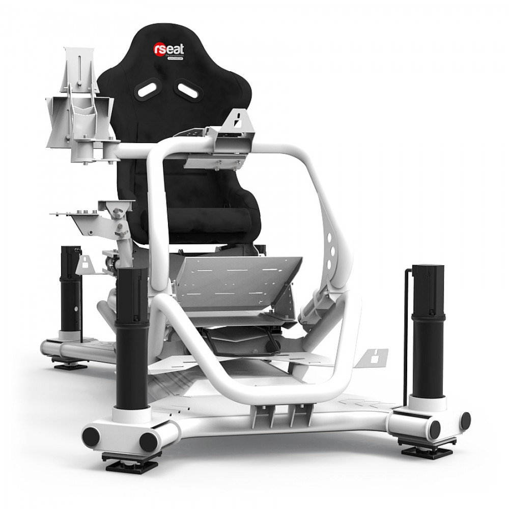 N1 M4A 6000 White Motion Simulator