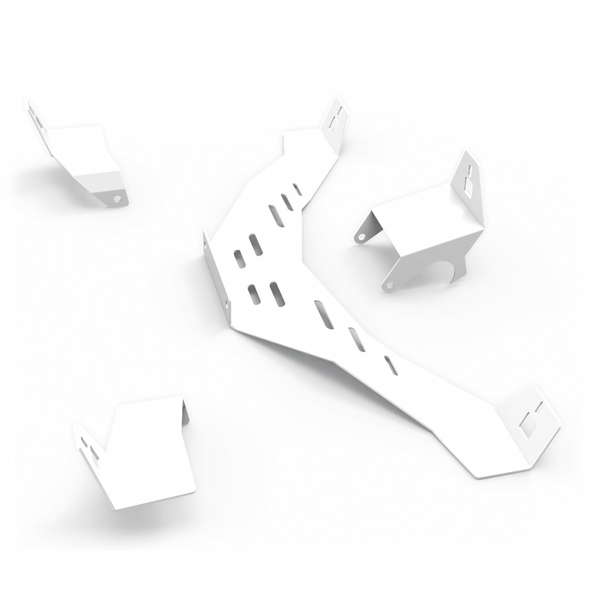 N1 Speakers Mount Upgrade kit White