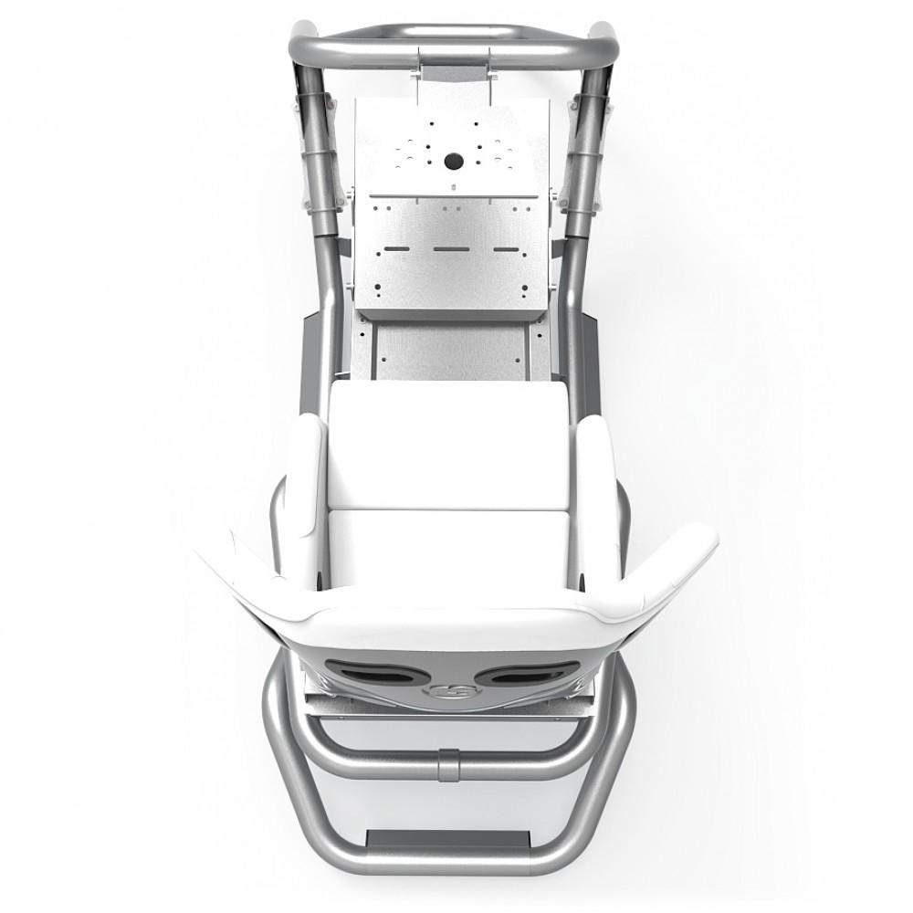 N1 White/Silver Frame