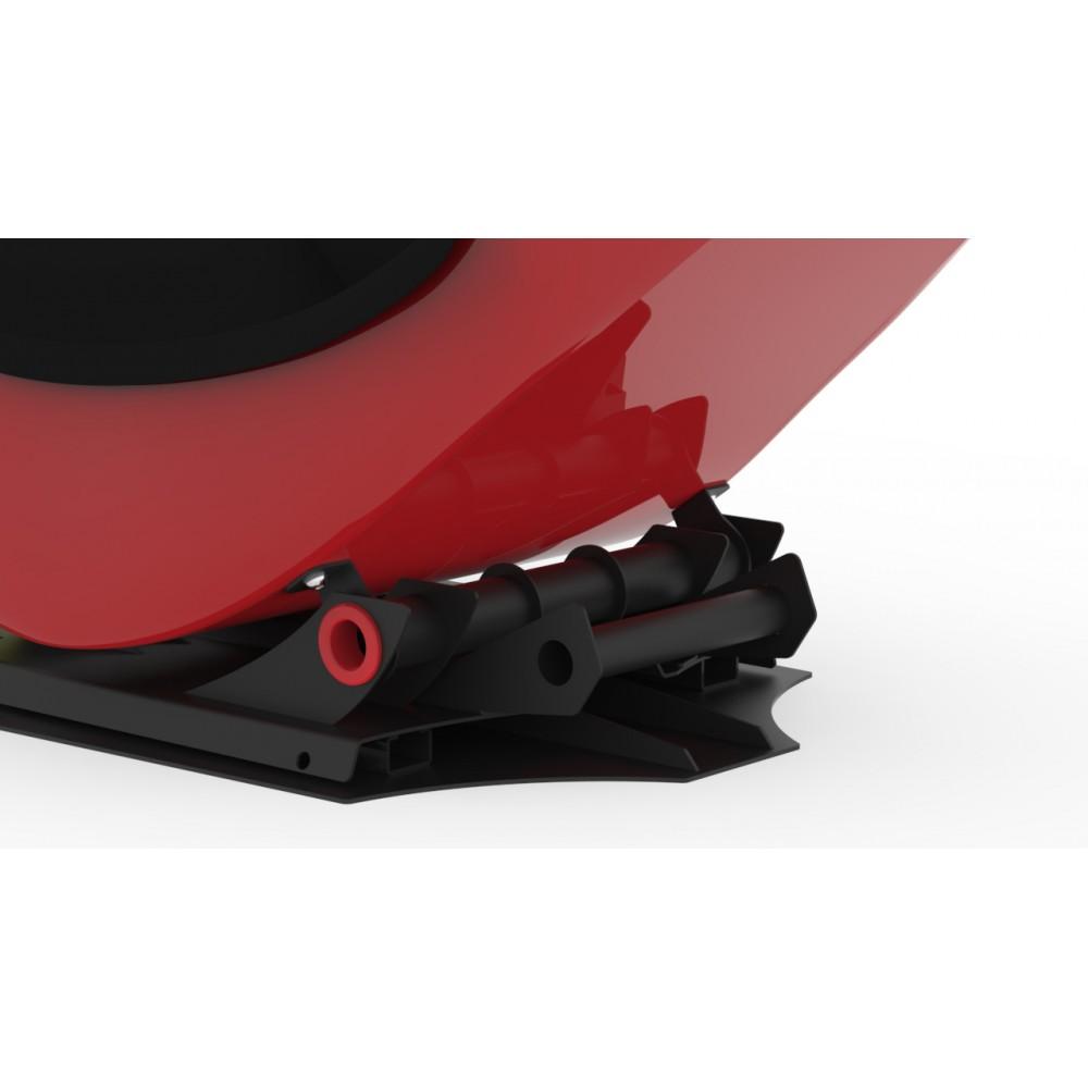 RS Formula V2 Buttkicker Upgrade Kit Black