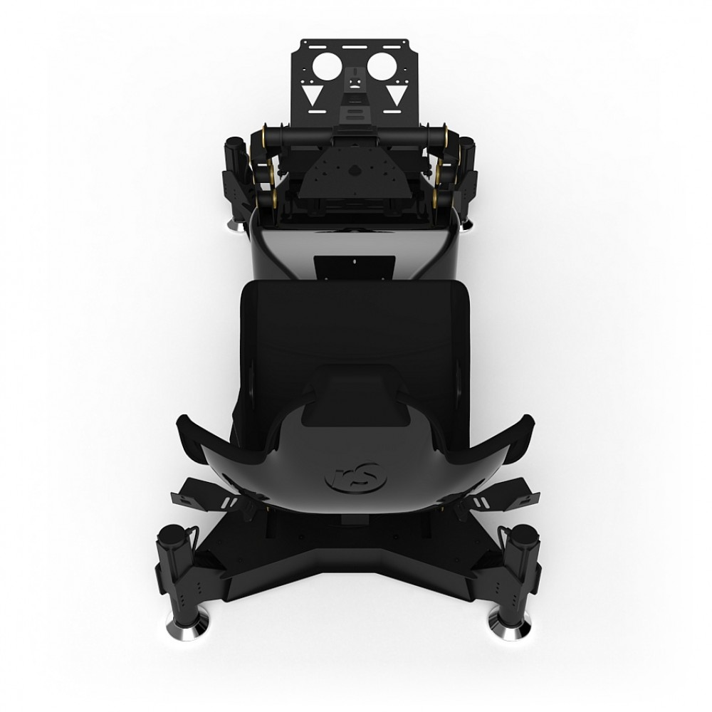 RS Formula M4A Black-Gold Full Motion, Electrical Adjustment of the pedals and seat