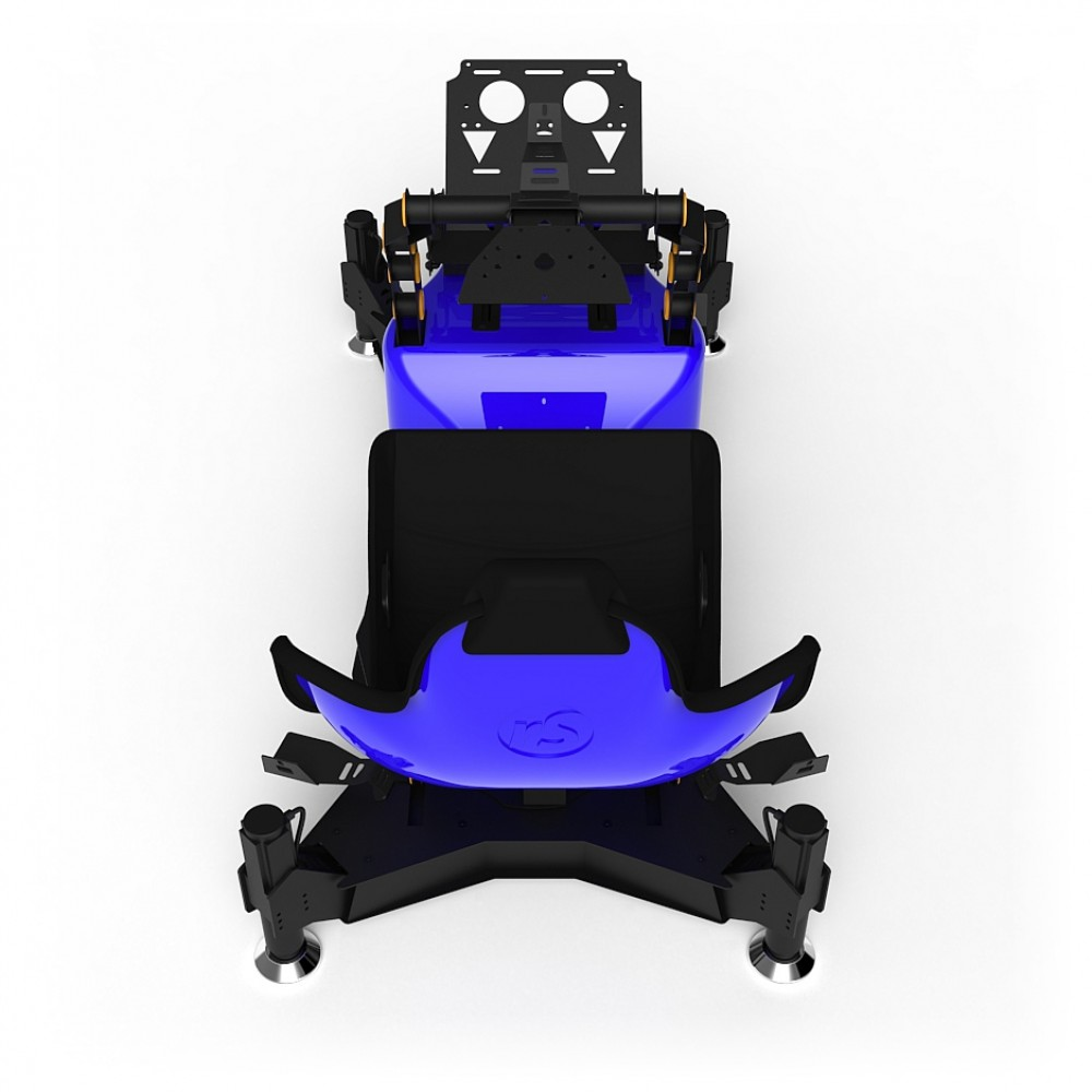 RS Formula M4A Blue Full Motion, Electrical Adjustment of the pedals and seat