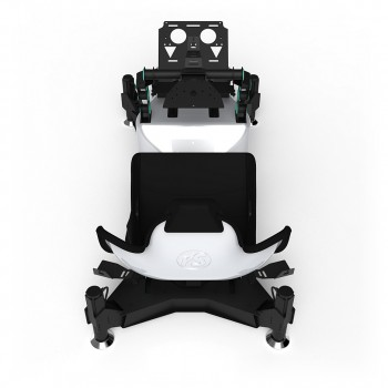 RS Formula M4A Silver-Green Full Motion, Electrical Adjustment of the pedals and seat