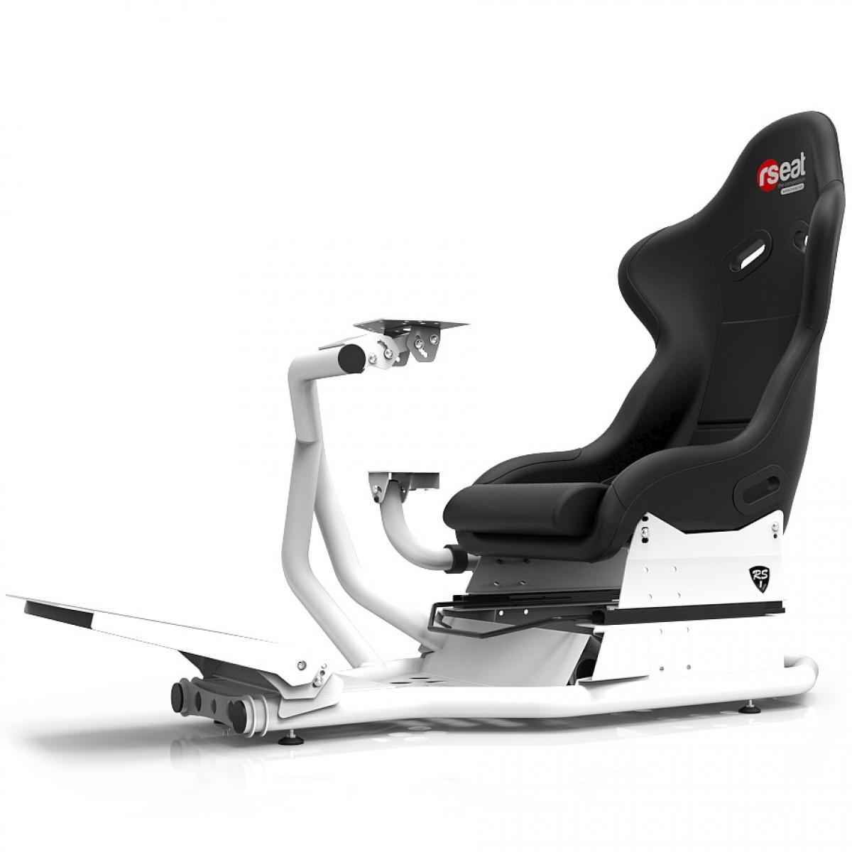RS1 Black Seat/White